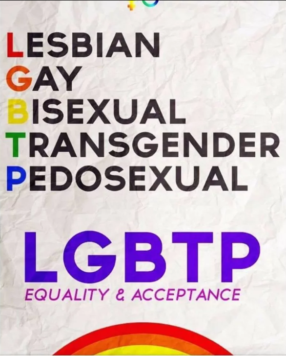 LGBT Does Not Condone Child Sex