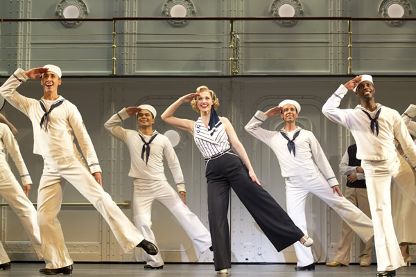 Rachel York, Reno Sweeney, Anything Goes, Kennedy Center, Washington Blade, Gay News