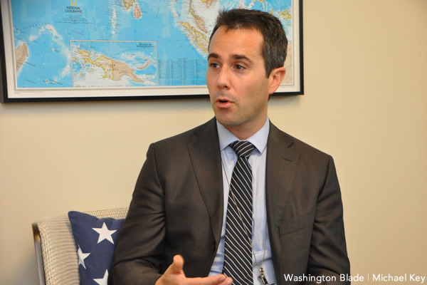Daniel Baer, United States Department of State, Bureau of Democracy, Human Rights and Labor, gay news, Washington Blade