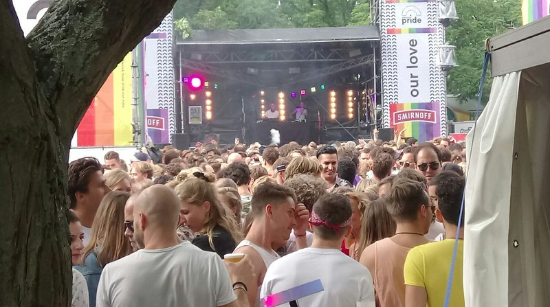 Amsterdam Pride Street Party