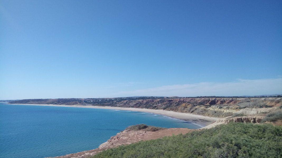 Maslin Nudist Beach. Adelaide Australia