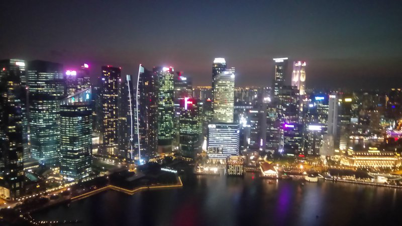 Rooftop bar lavo view singapore