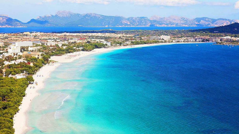 Alcudia Majorca. Es Trenc Nudist gay beach