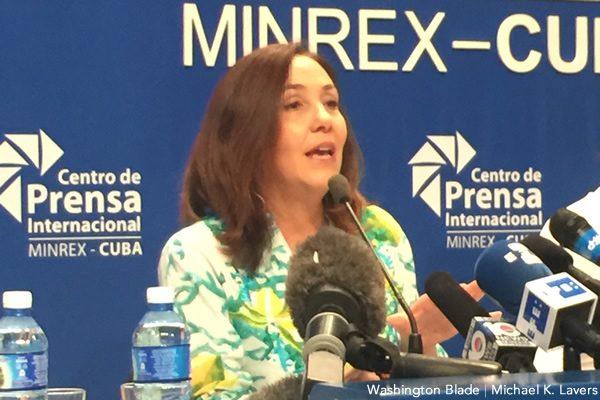 Mariela Castro, gay news, Washington Blade