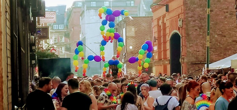 Canal Street Manchester Pride