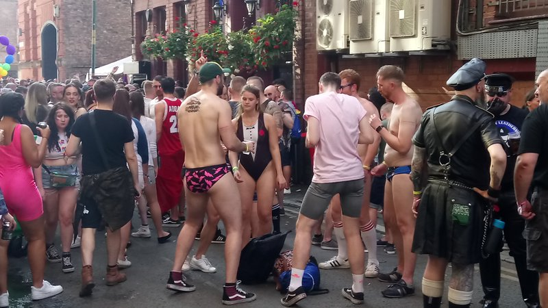 Canal Street Party Manchester Pride