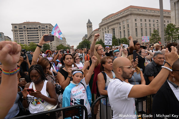 National Trans Visibility March, gay news, Washington Blade