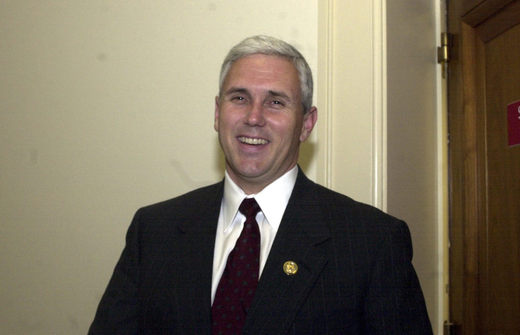 Early in his career, Pence ran anti-LGBT groups