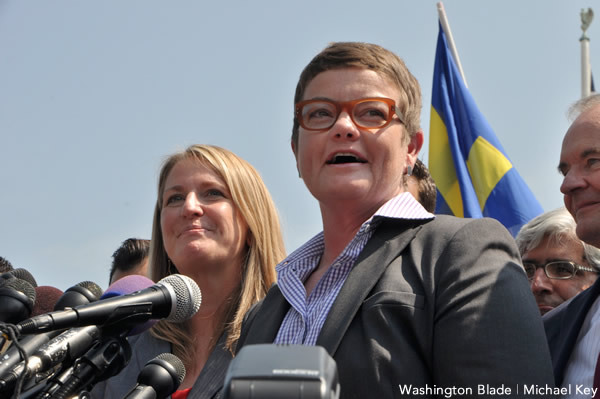 Sandy Stier, Kris Perry, David Boies, Chad Griffin, gay marriage, same-sex marriage, marriage equality, Proposition 8, Defense of Marriage Act, DOMA, Prop 8, California, Supreme Court, gay news, Washington Blade