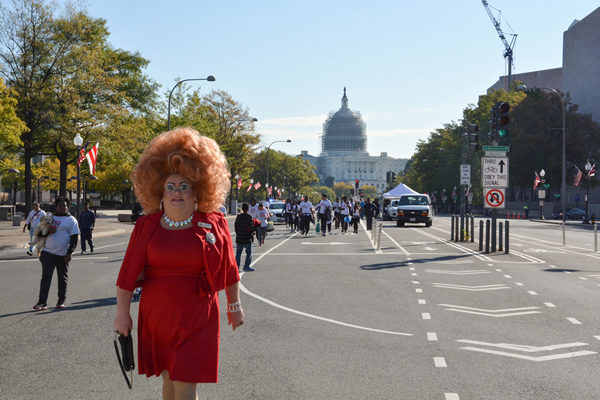 Muffy Blake Stephyns, gay news, Washington Blade, queen of the capital