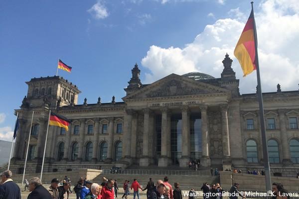 Reichstag, Berlin, Germany, gay news, Washington Blade